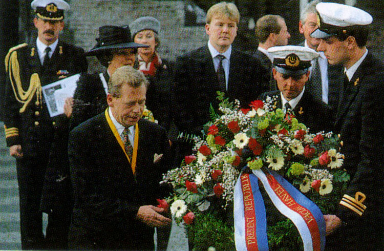 Havel, Beatrix en Willem Alexander